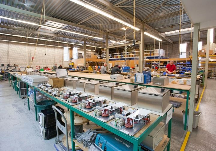 Projecten team Industriële Techniek